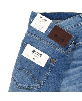 Mustang Herren Jeans Oregon Tapered stone blue treated