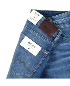 Mustang Herren Jeans Michigan Straight authentic blue treated