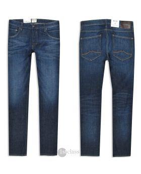 Mustang Herren Jeans Michigan Straight dark blue treated