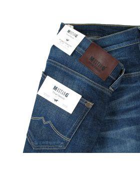 Mustang Herren Jeans Oregon Tapered dark blue treated