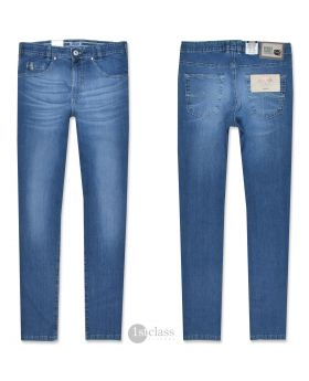 Joker Jeans Nuevo 2420/0600 leichter Japan Denim blue buffies