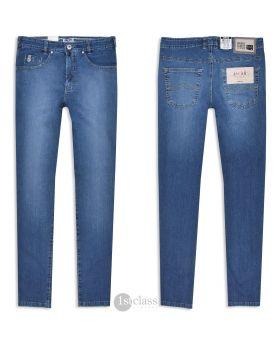 Joker Jeans Nuevo 2420/0680 leichter Japan Denim stone blue used
