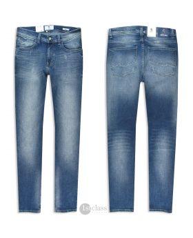 OTTO KERN Herren Jeans Ray stone blue distressed Stretch Denim