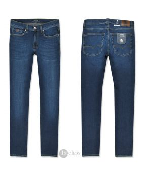 OTTO KERN Herren Jeans John navy stone Pure Flex