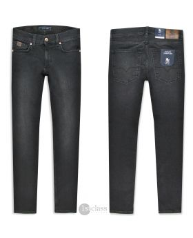 OTTO KERN Herren Jeans John weathered black Pure Flex