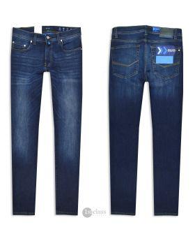 Pierre Cardin Herren Jeans Lyon 8820/01 Future Flex dark blue treated