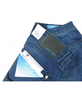 Pierre Cardin Herren Jeans Lyon 8880/96 Futureflex blue treated