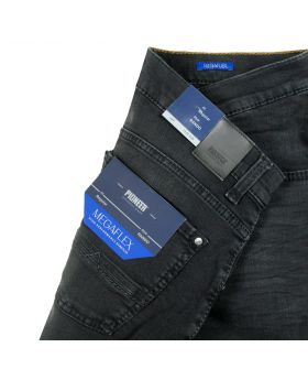PIONEER Herren Jeans Rando Megaflex weathered black
