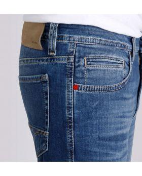 MAC Herren Jeans Arne blue treated soft Stretch