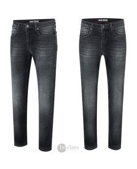 MAC Herren Jeans Arne weathered black used soft Stretch