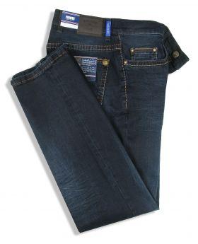 PIONEER Herren Jeans Rando Handcrafted black blue treated