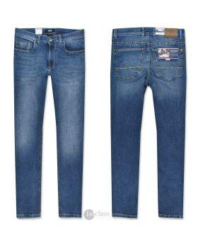 PIONEER Herren Jeans Rando Handcrafted vintage blue treated