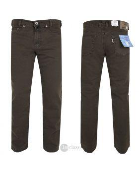 JOKER Twill-Jeans | Clark dunkelbraun 3401/3