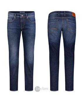 MAC Herren Jeans Ben dark blue vintage wash