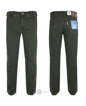 JOKER Twill-Jeans | Clark dark green 3401/5