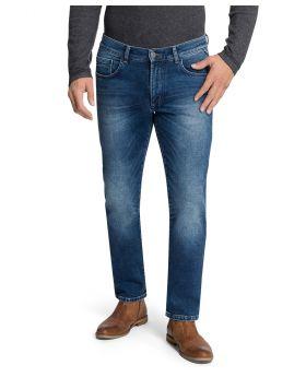 PIONEER Herren Jeans Eric Megaflex navy treated Handcrafted