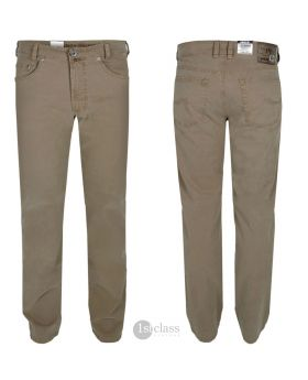 JOKER Hose | Stretch Harlem Walker 3530/366 Tabak