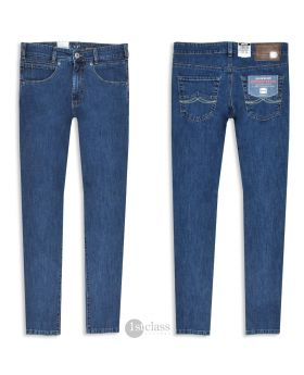 Joker Jeans Freddy 2442/66 Comfort Denim authentic blue stoned